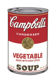 Campbell's Soup I: Vegetable, 1968 Prints by Andy Warhol