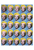 Twenty-Five Colored Marilyns, 1962 Posters by Andy Warhol