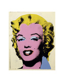 Lemon Marilyn, 1962 Affiches par Andy Warhol