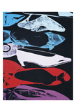 Diamond Dust Shoes (Parallel), 1980-81 Poster by Andy Warhol