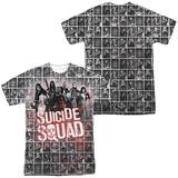 Suicide Squad- Red Spatter Logo Panels (Front/Back) T-Shirt