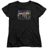 Womans: Suicide Squad- Neon Logo T-shirts