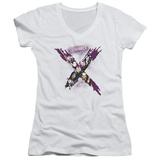 Juniors: Suicide Squad- Taskforce X V-Neck T-shirts