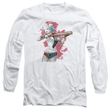 Long Sleeve: Suicide Squad- Harley Loaded Bat T-shirts