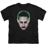 Youth: Suicide Squad- Joker Serious Face T-Shirt