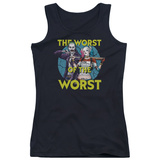 Juniors Tank Top: Suicide Squad- Worst Of The Worst T-shirts
