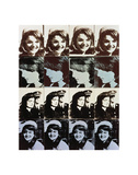 Sixteen Jackies, 1964 Plakater af Andy Warhol