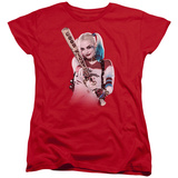 Womans: Suicide Squad- Harley Quinn At Bat T-shirts