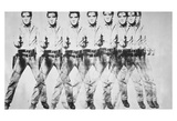 Eight Elvis, 1963 Affiches par Andy Warhol