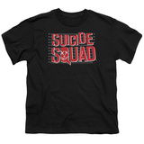 Youth: Suicide Squad- Lineup Logo T-Shirt