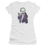 Juniors: Suicide Squad- Joker Close Shave Shirts