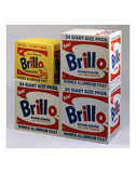 Brillo Boxes, 1963-1964 Posters by Andy Warhol