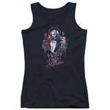 Juniors Tank Top: Suicide Squad- Harley Quinn Lil Monster Womens Tank Tops