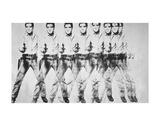 Eight Elvis, 1963 Poster von Andy Warhol