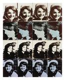 Andy Warhol - Sixteen Jackies, 1964 - Reprodüksiyon