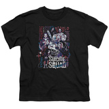 Youth: Suicide Squad- Graffiti Roll Call Shirts