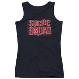Juniors Tank Top: Suicide Squad- Lineup Logo T-Shirt