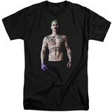 Suicide Squad- Joker All Tatted Up (Big & Tall) T-shirts