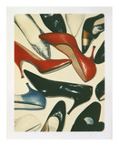 Shoes, 1980 Prints by Andy Warhol