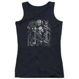 Juniors Tank Top: Suicide Squad- Harley Quinn Lucky You Womens Tank Tops
