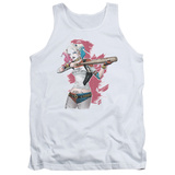 Tank Top: Suicide Squad- Harley Loaded Bat Tank Top