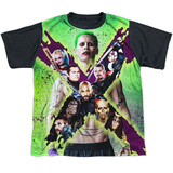 Youth: Suicide Squad- Joker Vs. Taskforce X (Black Back) T-Shirt