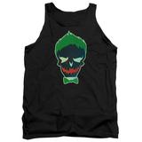 Tank Top: Suicide Squad- Joker Skull Tank Top