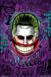 Suicide Squad- The Jokeris Watching Posters