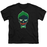 Youth: Suicide Squad- Joker Skull T-Shirt