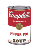 Campbell's Soup I: Pepper Pot, 1968 Poster by Andy Warhol