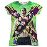 Juniors: Suicide Squad- Joker Vs. Taskforce X T-Shirt