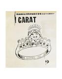 Carat, 1961 Plakat af Andy Warhol