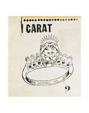Carat, 1961 Print by Andy Warhol