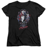 Womens: Suicide Squad- Harley Quinn Lil Monster T-shirts