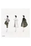 Andy Warhol - Untitled (Three Female Fashion Figures), c. 1959 Obrazy