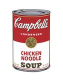 Campbell's Soup I: Chicken Noodle, 1968 Schilderijen van Andy Warhol