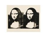 Double Mona Lisa, 1963 Plakat af Andy Warhol