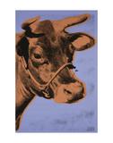 Cow, 1971 (purple & orange) Posters af Andy Warhol