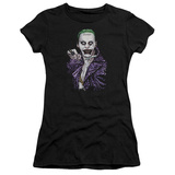 Juniors: Suicide Squad- Joker Close Shave T-shirts