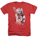 Suicide Squad- Harley Quinn At Bat T-shirts