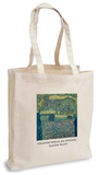 Gustav Klimt - Country House on Attersee Tote Bag Draagtas