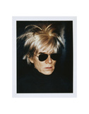 Andy Warhol - Self-Portrait in Fright Wig, 1986 Reprodukce