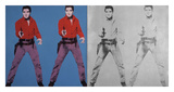 Elvis I and II, 1963-1964 Posters by Andy Warhol