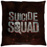 Suicide Squad - Logo Throw Pillow Throw Pillow