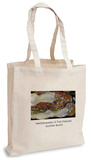 Gustav Klimt - Watersnakes II The Friends Tote Bag Handleveske