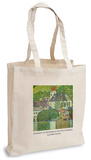 Gustav Klimt - Church in Unterach on the Attersee Tote Bag Bolsa de tela