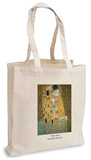 Gustav Klimt - The Kiss Tote Bag Handleveske