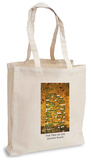Gustav Klimt - The Tree of Life Tote Bag Kauppakassi