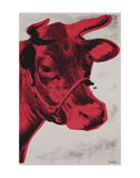 Cow Poster, 1976 Print by Andy Warhol