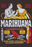 Marihuana - Weed With Roots In Hell Print